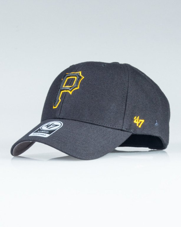 47 BRAND CAP MLB PIRATES BLACK