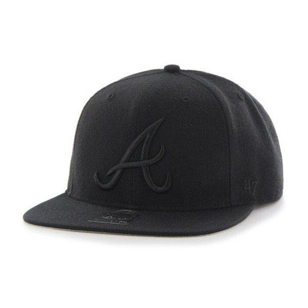 47 BRAND SNAPBACK ATLANTA BRAVES BLACK