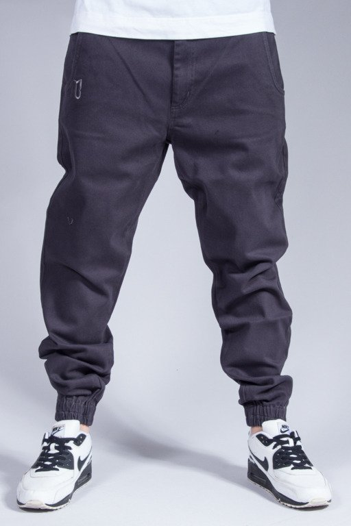 BOR PANTS CHINO JOGGER GREY