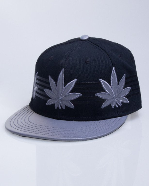 CAYLER & SONS CZAPKA SNAPBACK FLASH BLACK-GREY