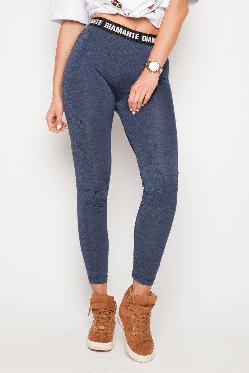 DIAMANTE CHICKS LEGGINSY CLASSIC NAVY
