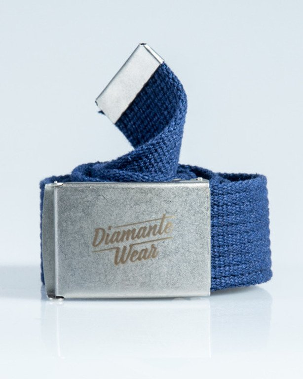 DIAMANTE WEAR BELT DIAMANTE NAVY-SILVER