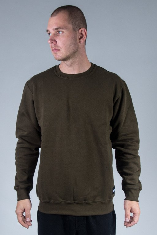 DIAMANTE WEAR CREWNECK BASIC KHAKI