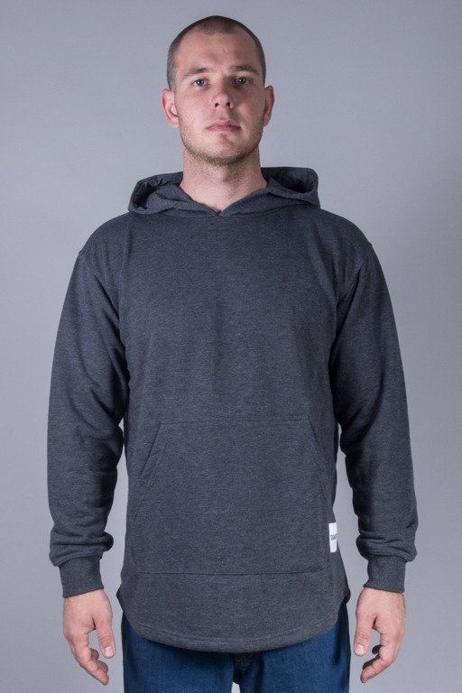 DIAMANTE WEAR HOODIE ZIP LONG NAVY