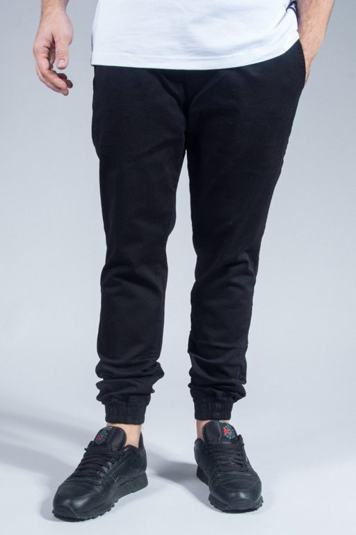 DIAMANTE WEAR PANTS CHINO JOGGER CLASSIC BLACK
