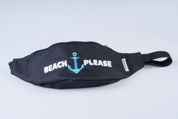 DIAMANTE WEAR SASZETKA NERKA BEACH PLEASE BLACK