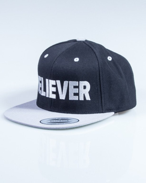 DIAMANTE WEAR SNAPBACK BELIEVER BLACK-GREY