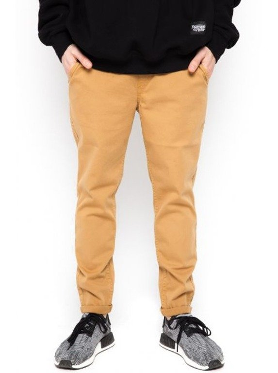 DIAMANTE WEAR SPODNIE CHINO ELEGANT HONEY