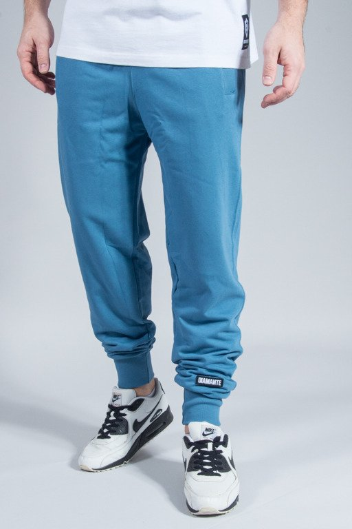 DIAMANTE WEAR SWEATPANTS BLUE