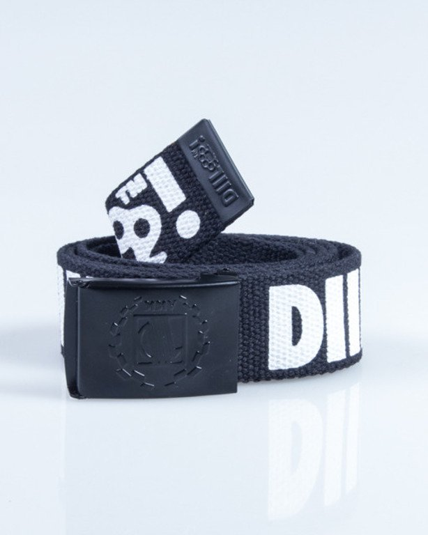 DIIL BELT KASTET BLACK-WHITE