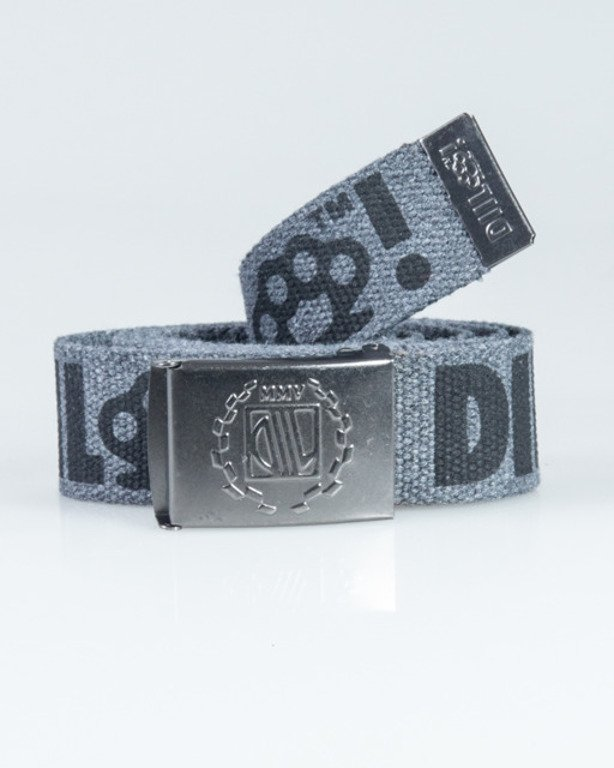 DIIL BELT KASTET GREY-BLACK