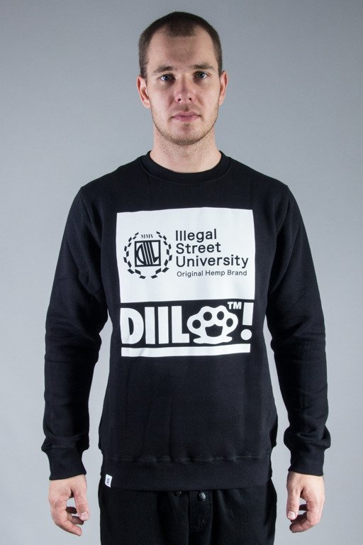 DIIL CREWNECK MISSED BLACK