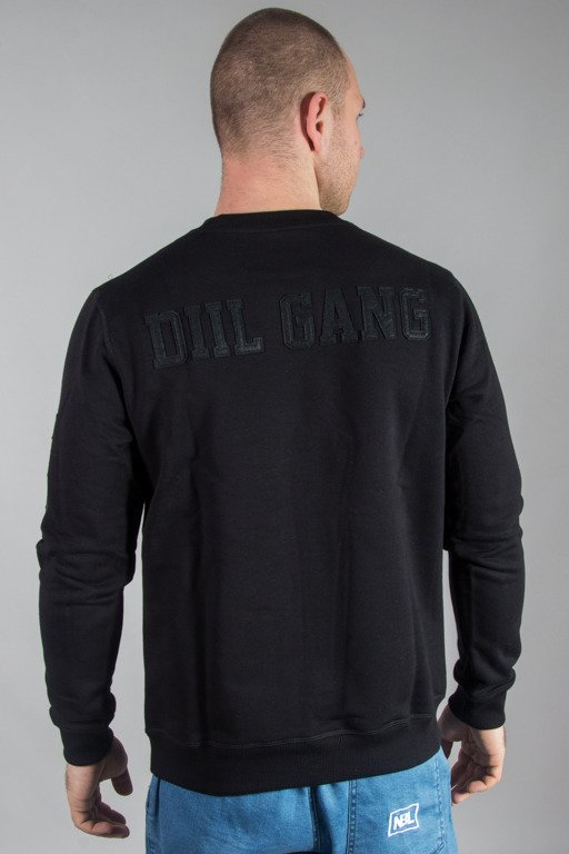 DIIL CREWNECK SIGN BLACK