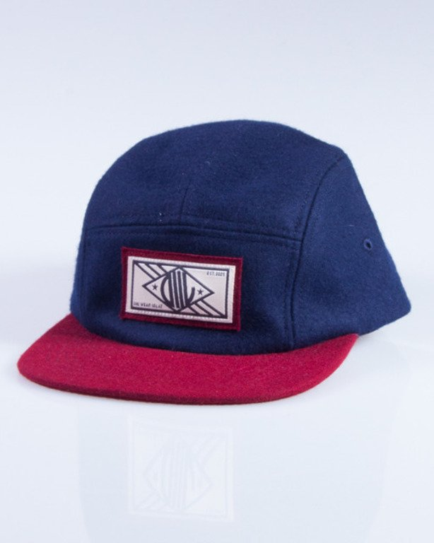 DIIL CZAPKA 5PANEL D4L NAVY-BRICK