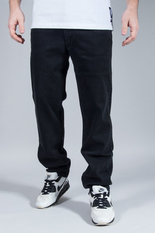DIIL JEANS KLASYK REGULAR TAG BLACK