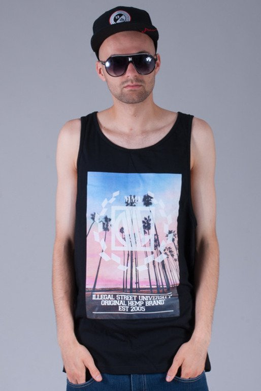 DIIL KOSZULKA TANK TOP SUMMER IN THE CITY BLACK