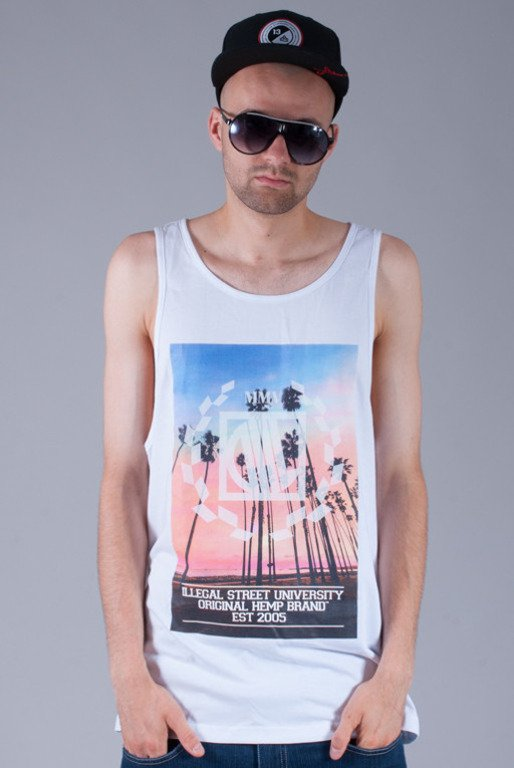 DIIL KOSZULKA TANK TOP SUMMER IN THE CITY WHITE