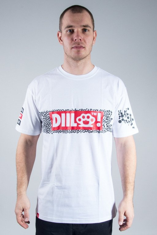 DIIL T-SHIRT DOTS WHITE