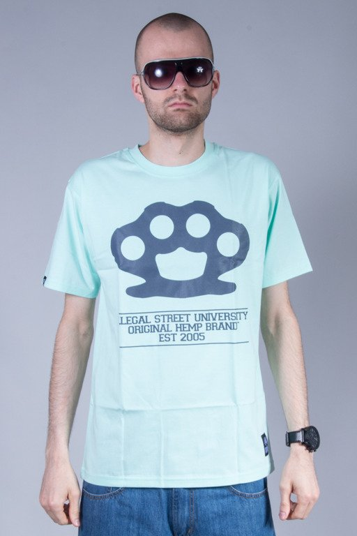DIIL T-SHIRT KNUCKLE MINT