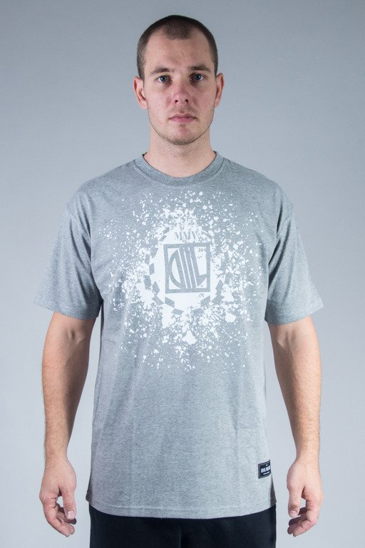 DIIL T-SHIRT SPLASH GREY