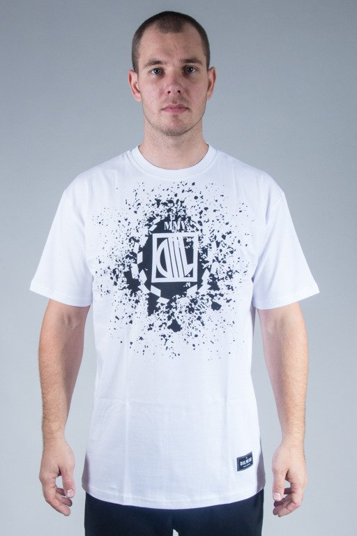 DIIL T-SHIRT SPLASH WHITE