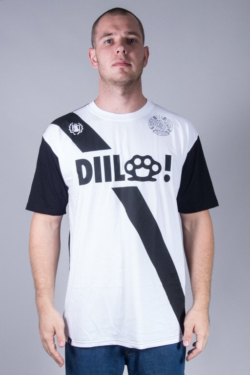 DIIL T-SHIRT STRIP WHITE