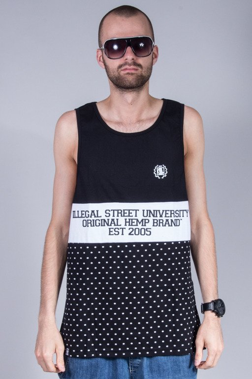 DIIL TANK TOP OHB COLOR BLACK