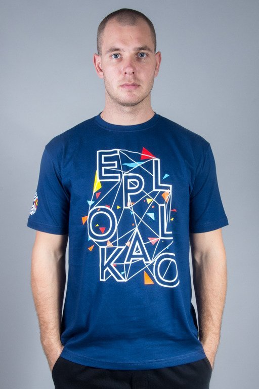 EL POLAK T-SHIRT EP ART NAVY