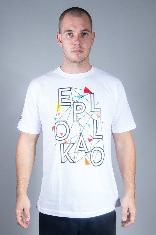 EL POLAK T-SHIRT EP ART WHITE