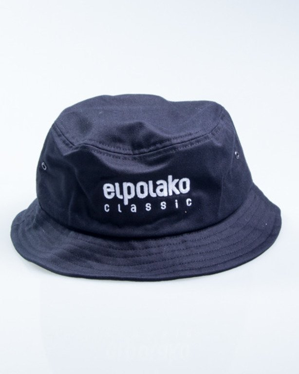 EL POLAKO BUCKET HAT CLASSIC BLACK