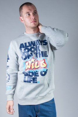 EL POLAKO CREWNECK ALWAYS LOOK MELANGE