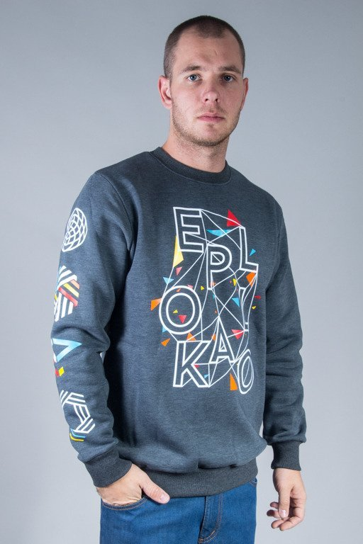 EL POLAKO CREWNECK EP ART. GRAFIT