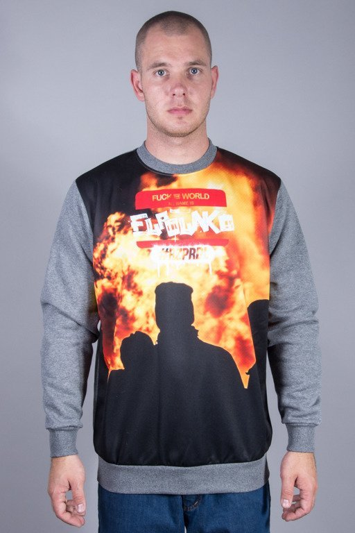 EL POLAKO CREWNECK FTW_MINI RIOT GREY