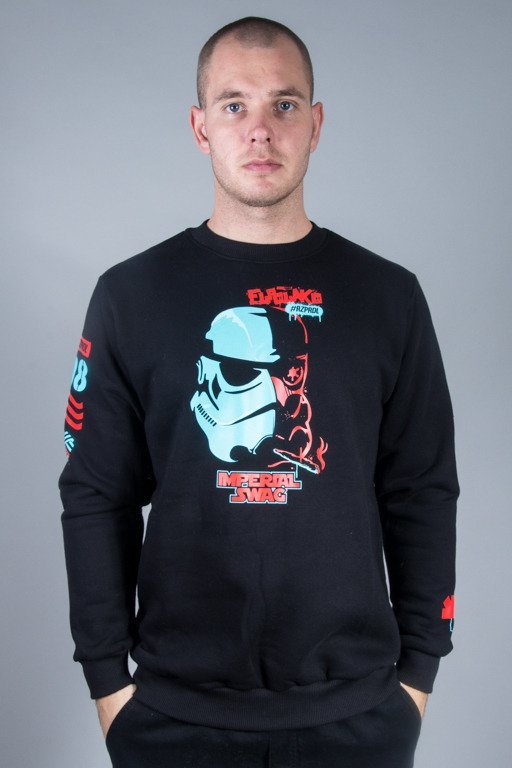 EL POLAKO CREWNECK IMPERIAL SWAG BLACK