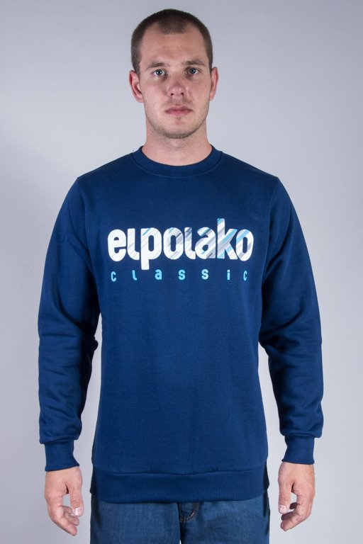 EL POLAKO CREWNECK SHADOW CLASSIC NAVY