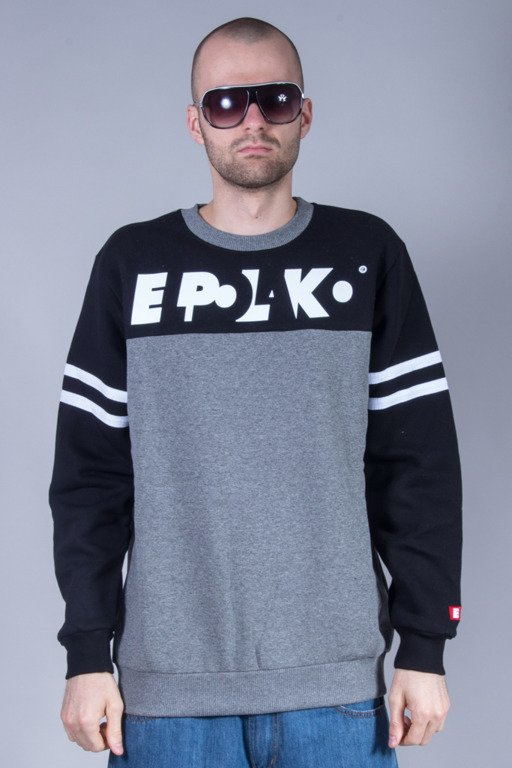 EL POLAKO CREWNECK STRIPES GREY