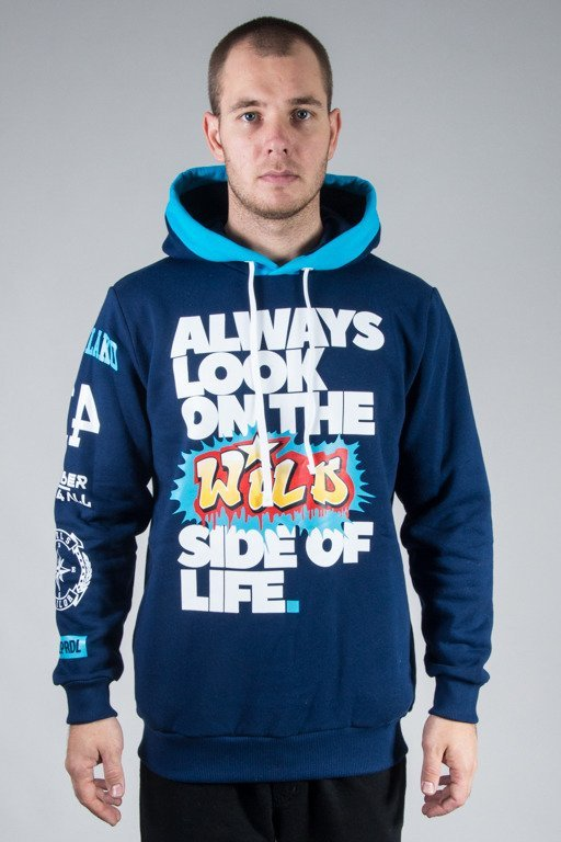 EL POLAKO HOODIE ALWAYS LOOK NAVY
