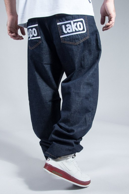 EL POLAKO JEANS BAGGY BELOW DARK