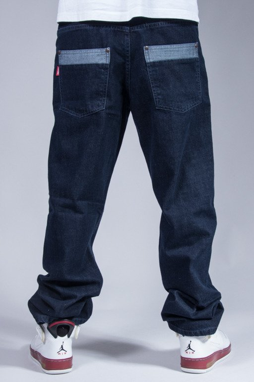 EL POLAKO JEANS HALF POCKET DARK