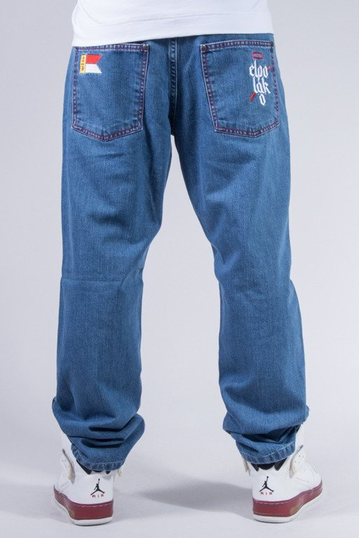 EL POLAKO JEANS SLIM FLAG LIGHT