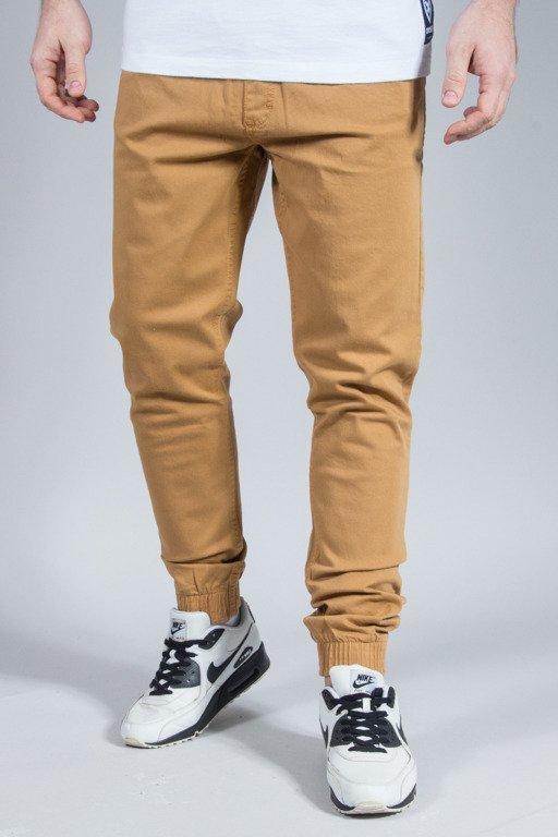 EL POLAKO PANTS CHINO JOGGER SLIM CLASSIC HONEY
