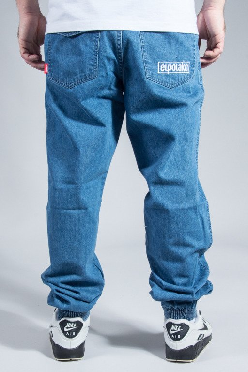EL POLAKO PANTS JEANS JOGGER CLASSIC POCKET REGULAR LIGHT