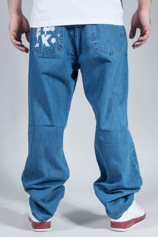 EL POLAKO SPODNIE JEANS BAGGY ELPK LIGHT