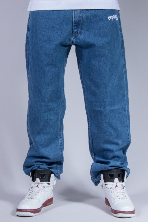 EL POLAKO SPODNIE JEANS REGULAR ELPK LIGHT