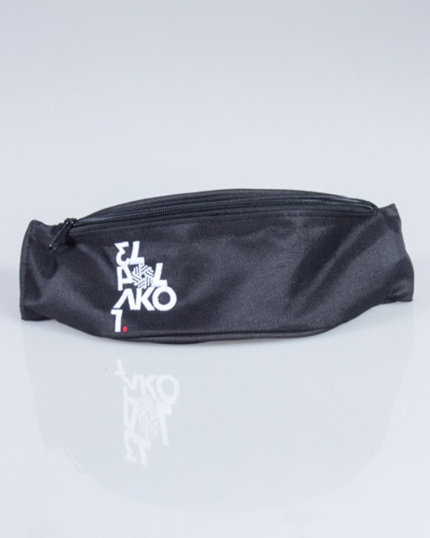 EL POLAKO STREETBAG NUMBER BLACK