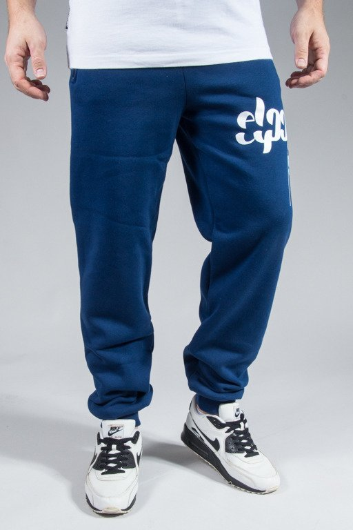 EL POLAKO SWEATPANTS EPFRONT NAVY