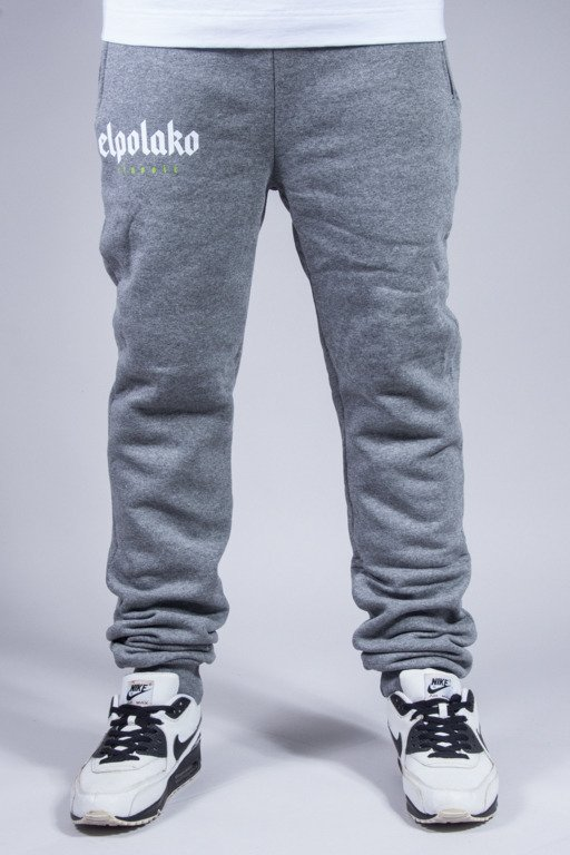 EL POLAKO SWEATPANTS OLD CLASSIC GREY