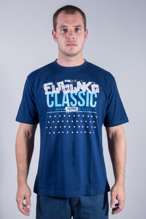 EL POLAKO T-SHIRT DOT NAVY
