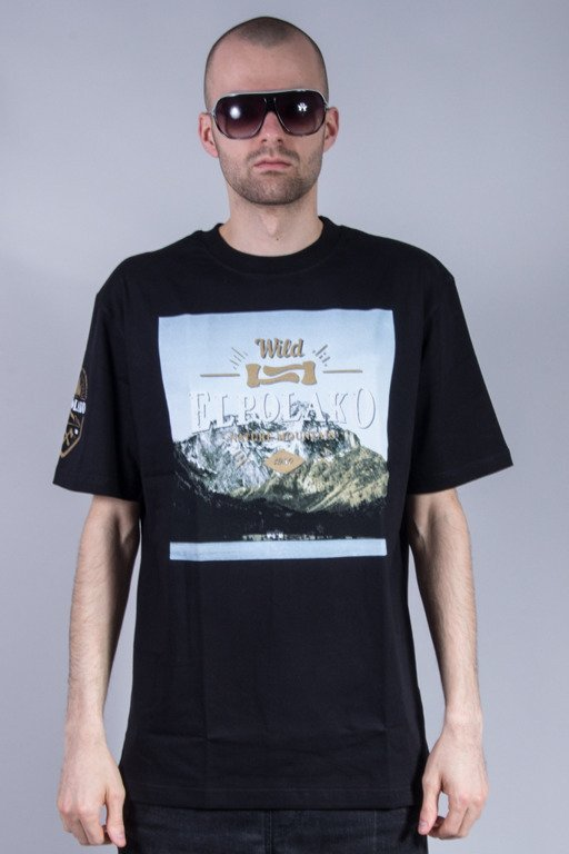 EL POLAKO T-SHIRT MIND BLACK