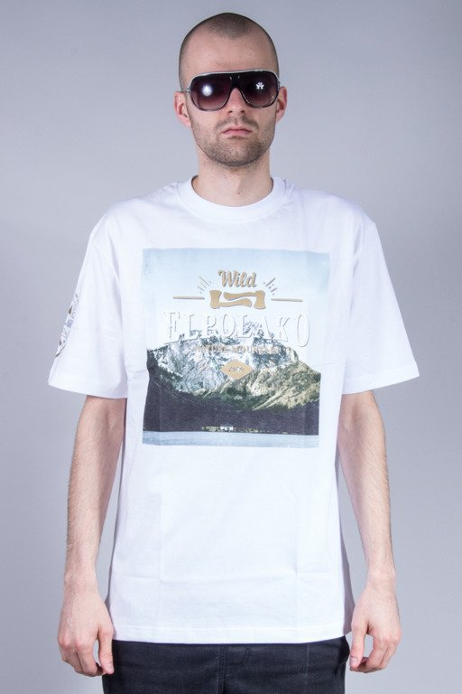 EL POLAKO T-SHIRT MIND WHITE